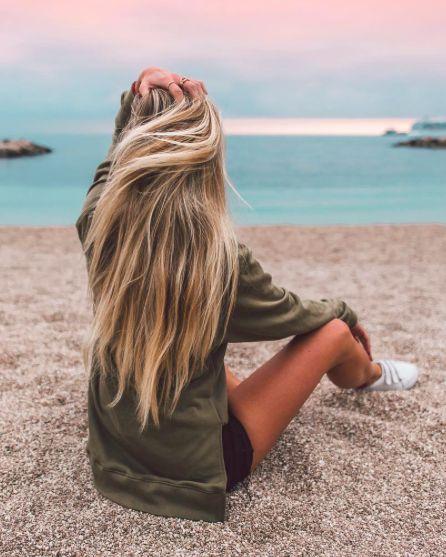 cheveux plage