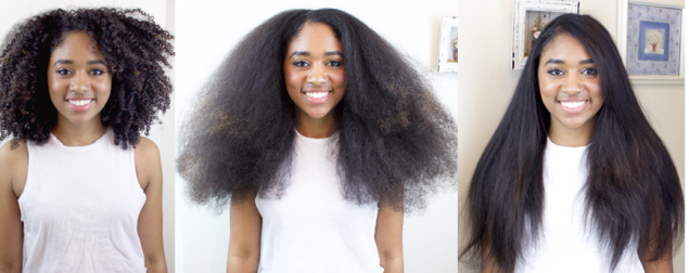 lissage cheveux crépus