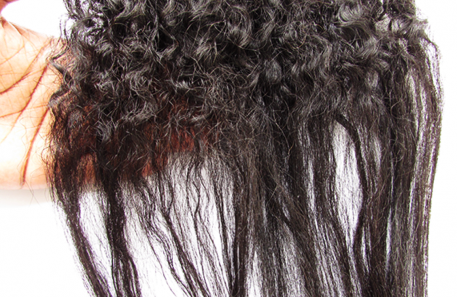 Lissage keratine cheveux boucles