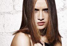 femme cheveux mi longs